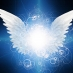 Abstract image depicting angel wings