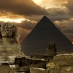 The Sphinx and Pyramid of Giza
