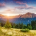 A picturesque mountain scene