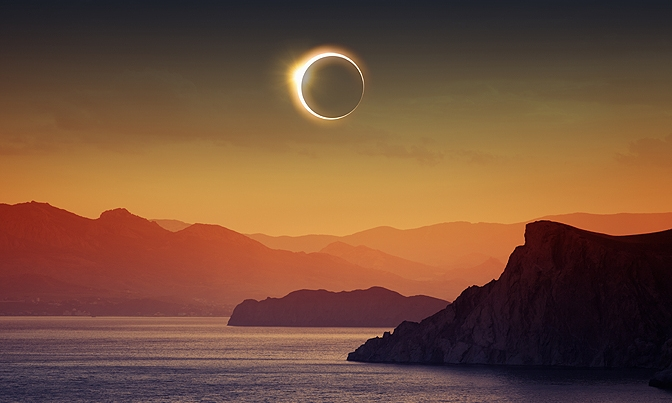 The Top Five Ways To Tune In To This Week's New Moon Eclipse