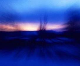 Abstract scene dusk