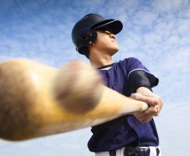 Swing Hard Just in Case You Hit It