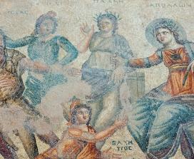 Roman Gods Mosaic