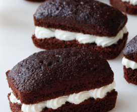 cream filled chocolate cake