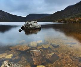 clear lake reflection