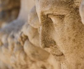 Roman relief carving in rock