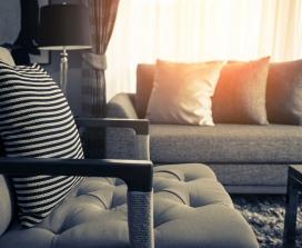 Tidy living room