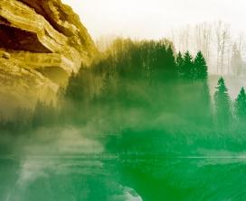 A mystical landscape