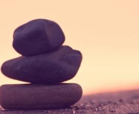 stones balancing