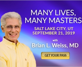 Many Lives, Many Masters with Brian L. Weiss, MD | Salt Lake City, UT | September 21, 2019