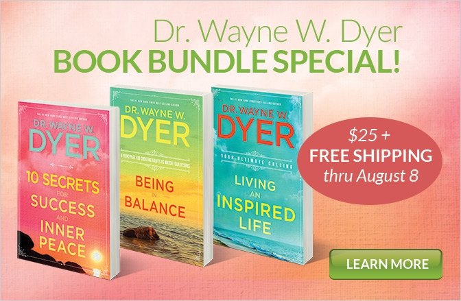 Wayne Dyer 3 Book Bundle