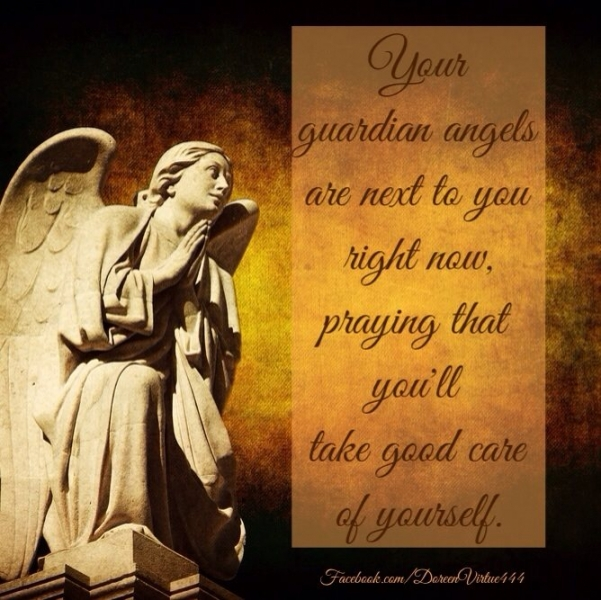 Connecting With Your Guardian Angels by Doreen Virtue