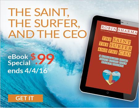 the saint the surfer and the ceo sharma robin
