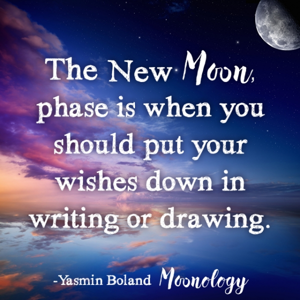 How To Make New Moon Wishes by Yasmin Boland - HealYourLife